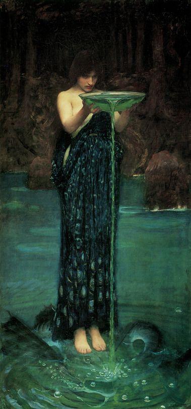John William Waterhouse (British, 1849-1917) - Circe Invidiosa, 1892
