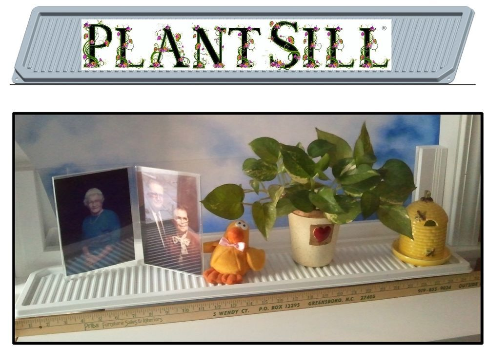 Lovely Plantsill Window Shelf Windowsill Extender Plant Flower Display Indoor  Garden