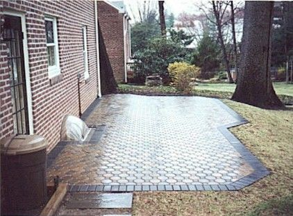 Octagonal Pavers For Space Near Pool