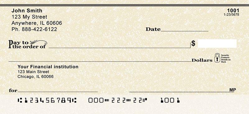 Parchment Checks Personal Checks Online Checks Cheap Checks