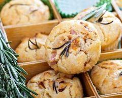 Muffins au jambon et feta (facile, rapide) - Une recette CuisineAZ