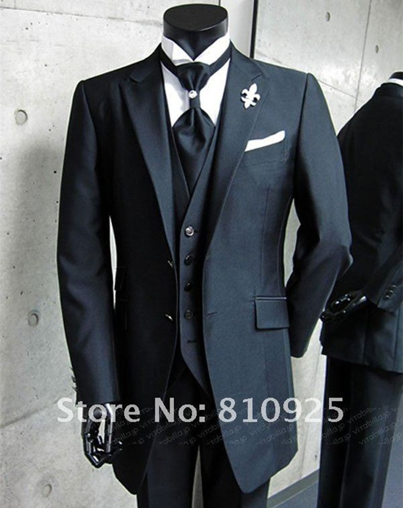 Custom Made Suits Quality 3 Piece Suit Directly From China Men Suppliers 2016 Groom Tuxedo High