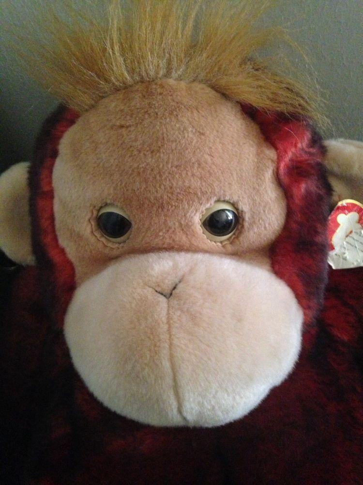 Ty Beanie Buddy ~ JUMBO Schweetheart Orangutan~ Monkey 2000 ~ Rare ~ 38  Inches  Ty  JumboBeanie 3a4be39b17