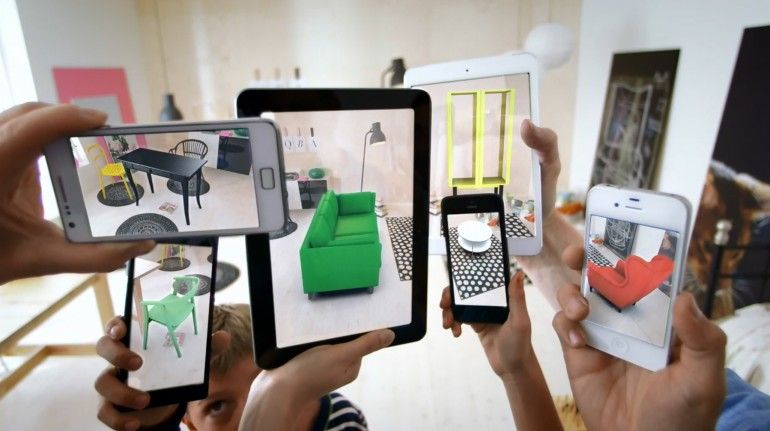 Ikea Catalog Uses Augmented Reality To Give A Virtual Preview Of