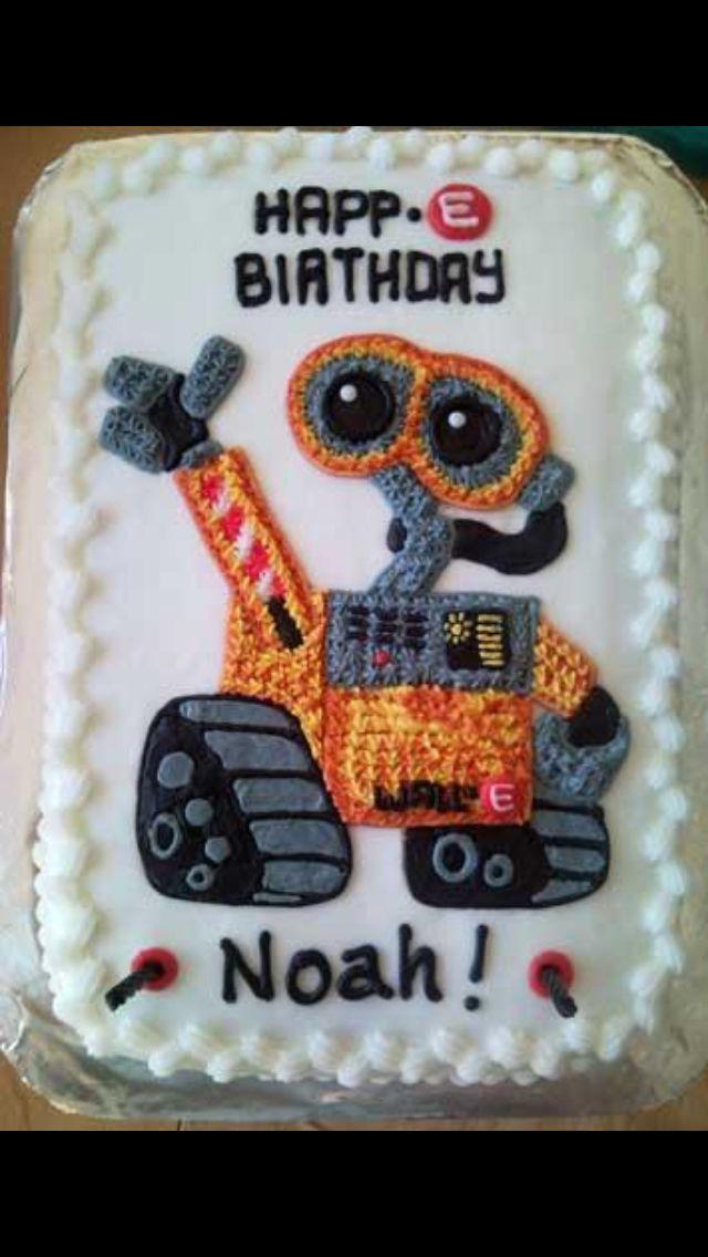 Wall E Walle And Eva Chocolates 4th Birthday