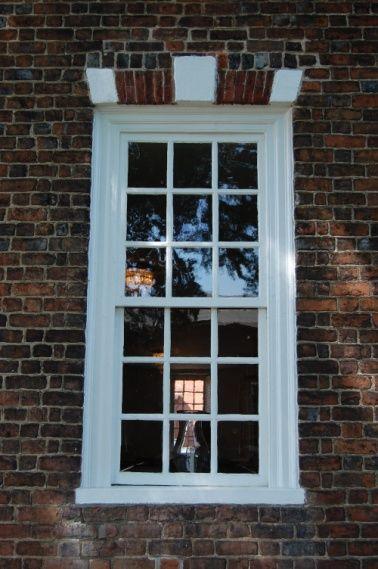 Georgian Colonial 9 9 Double Hung Sash Window Georgian