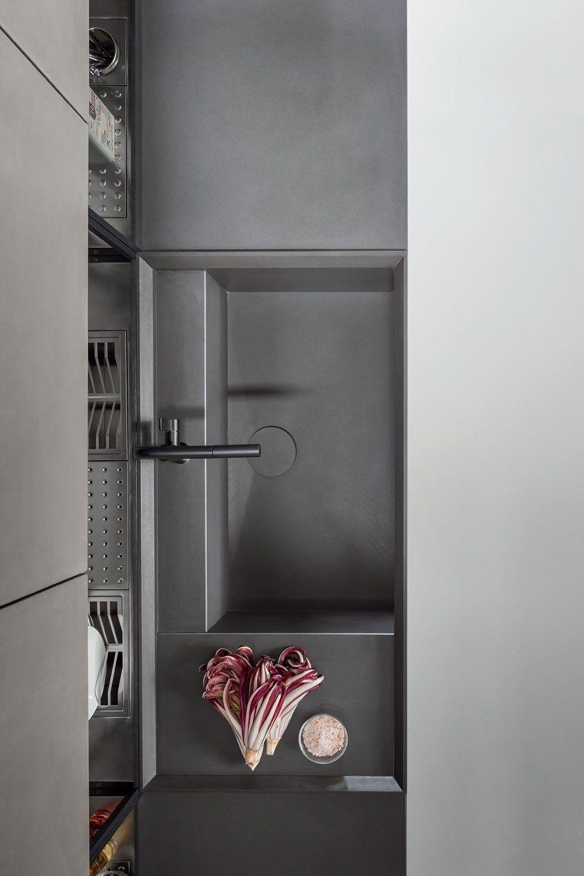 Küchendesign küchengarten linear fitted kitchen from zampieri is style personified in