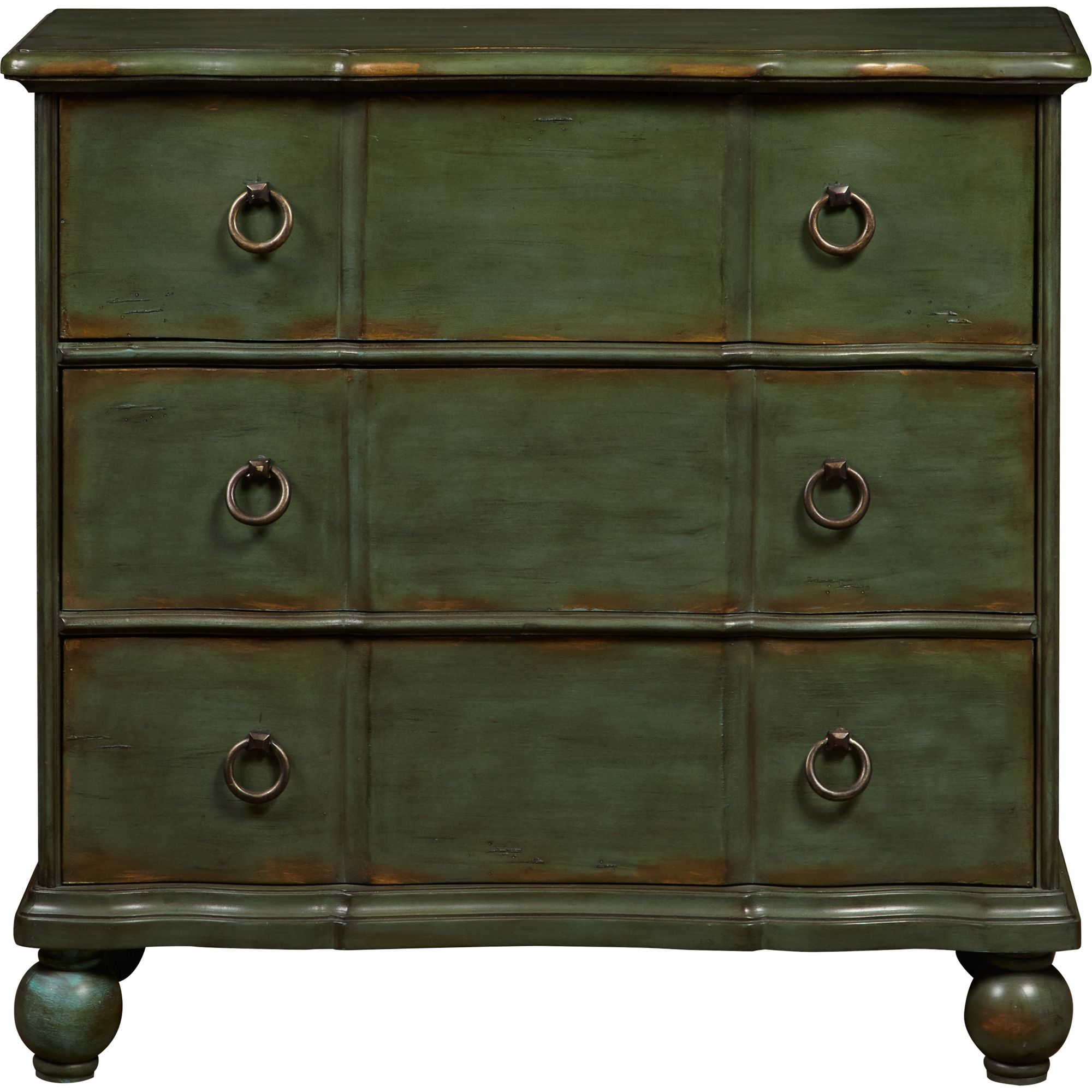 Hall chest in green by pulaski home gallery stores home bedroom