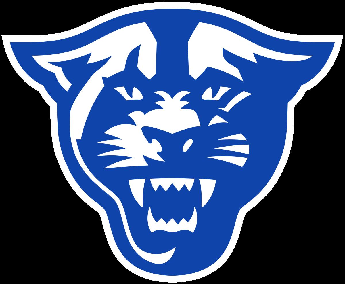 Georgia State Panthers Logo Georgia State College Football Logos Panther Logo