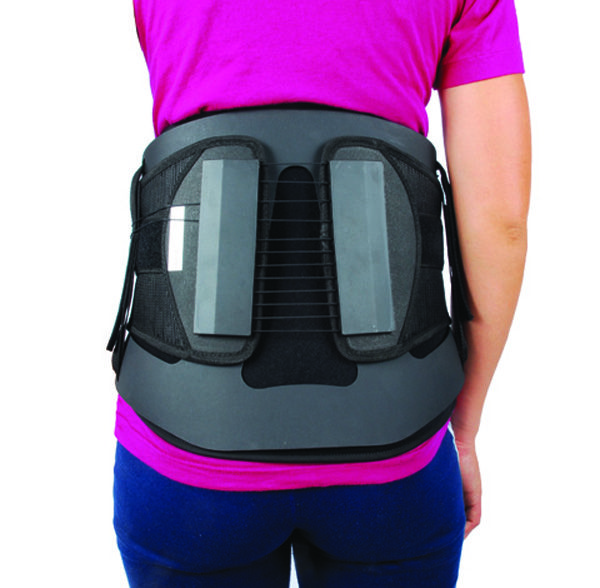 chair back brace ez barber mac plus lumbar spine decompression belt laminectomy recovery this cybertech chairback brought to you by braceability is a rigid with design which alleviates proximal lateral pressure
