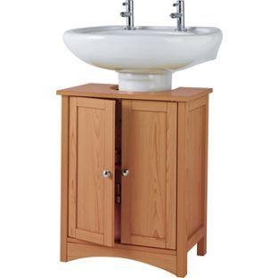 Fantastic Under Sink Storage Unit Pine Effect From Homebase Co Uk Home Interior And Landscaping Ologienasavecom
