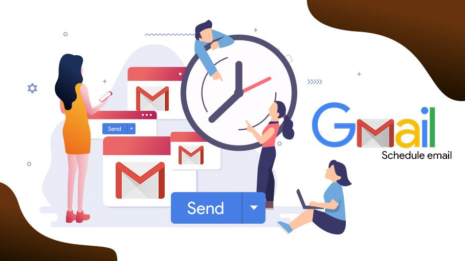 Scheduling of Sending Emails in Gmail in 2019 Schedule