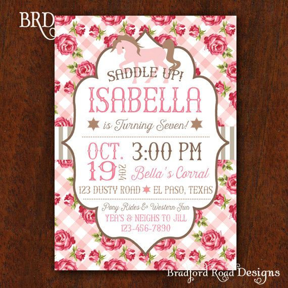 Cowgirl western birthday party invitation pony rides party boots cowgirl party filmwisefo