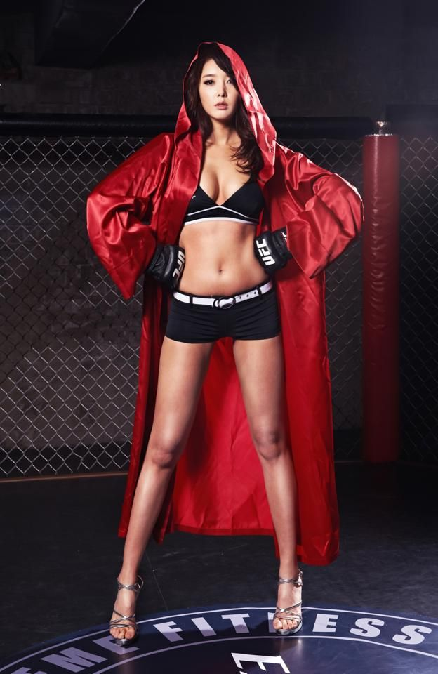 Ufc Ring Girls Shorts