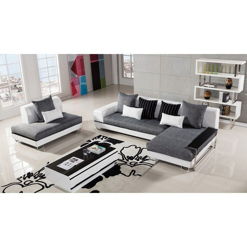 American Eagle Furniture Portland Upholstered Sectional