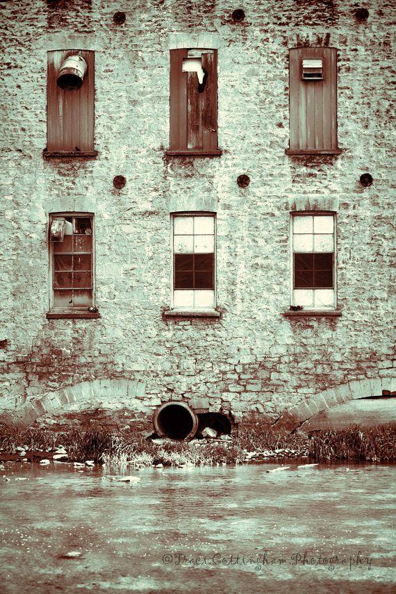 Urban Decay City building brick broken by