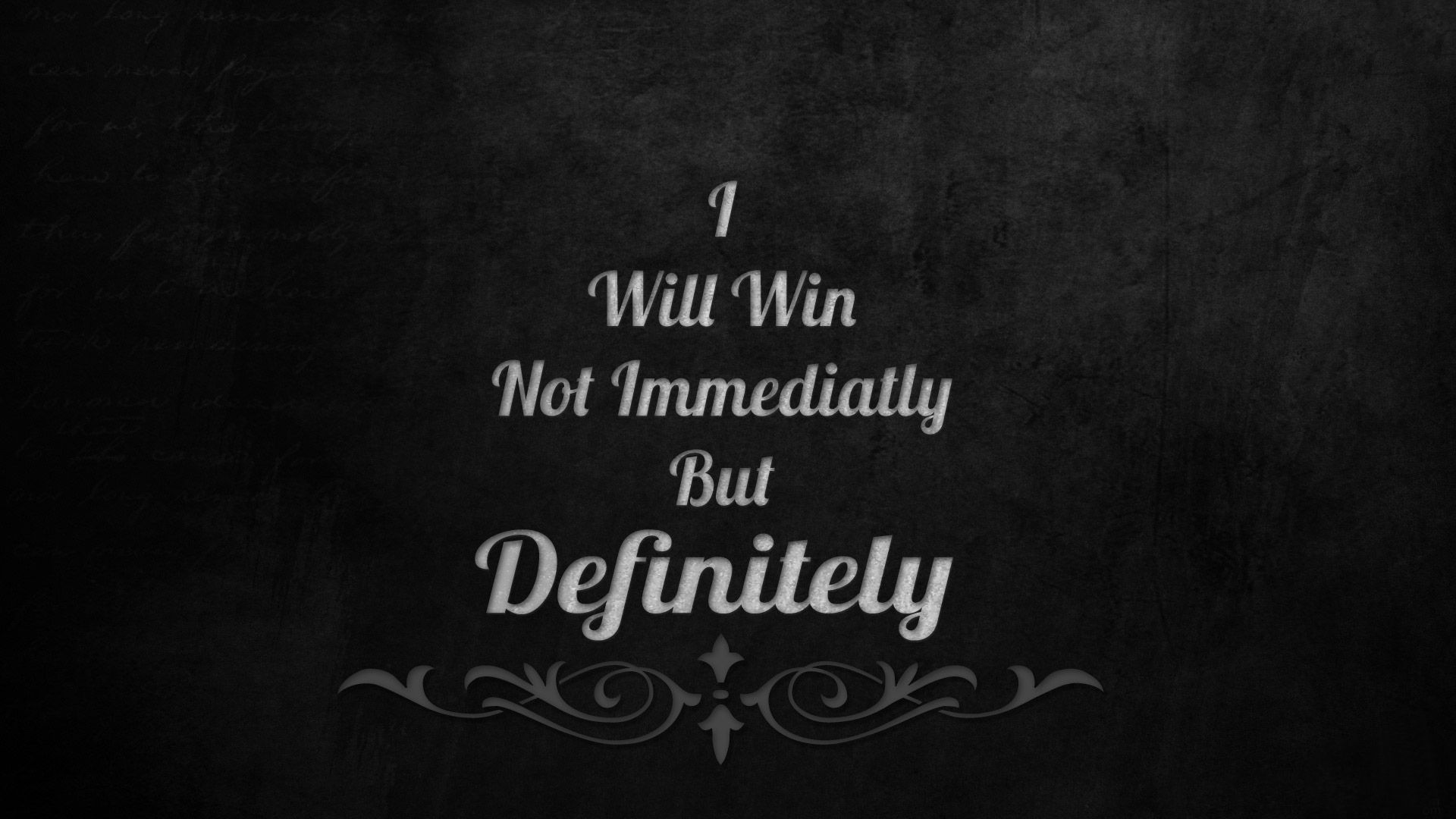 I Will Win Motivational Hd Wallpaper