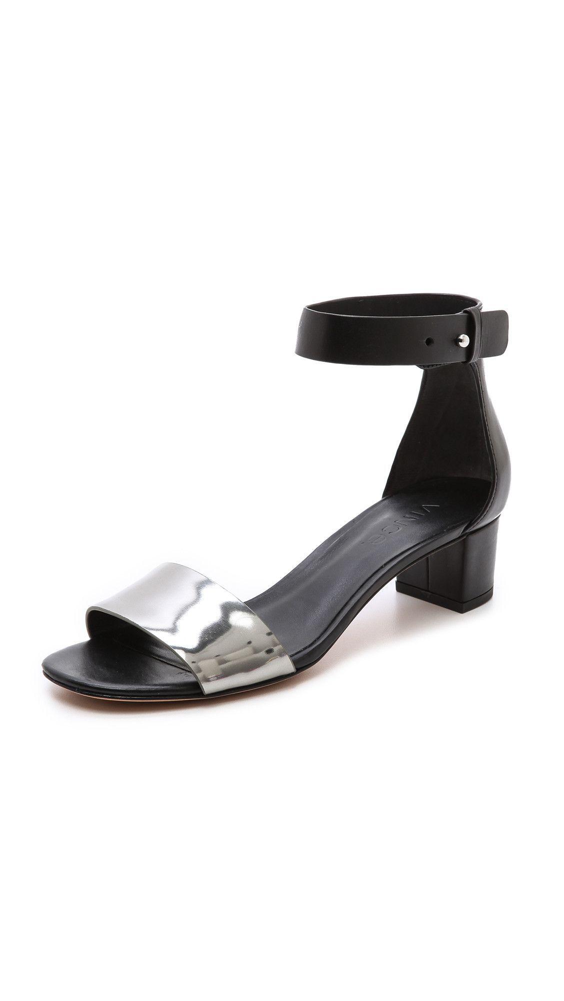 9dcca1e8d9a Vince remy low block heel sandal