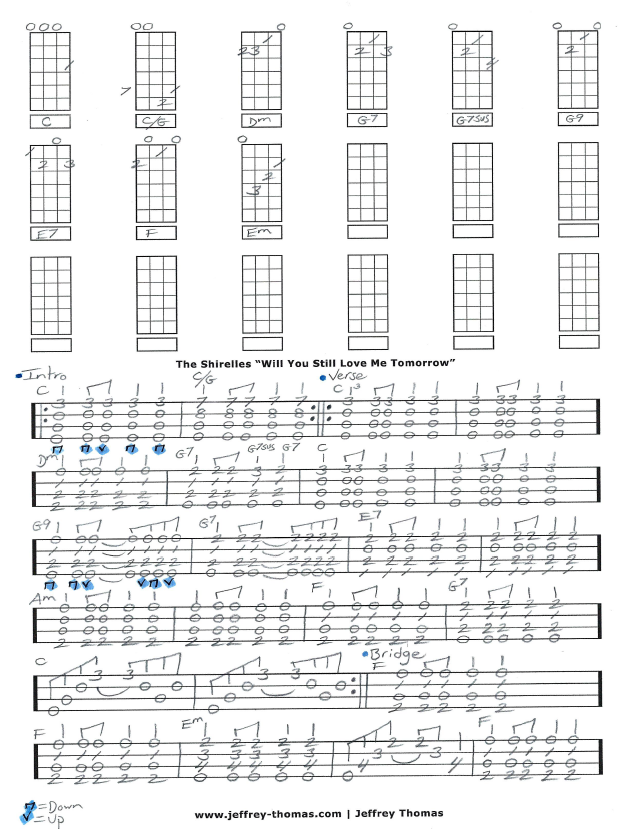 Free Ukulele Tab for