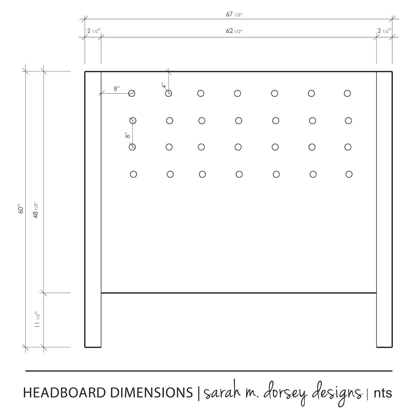 Inspirational Queen Size Headboard Dimensions Diy Queen Size