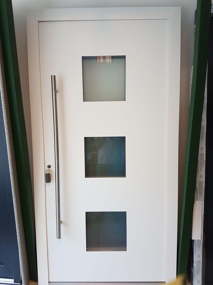 Günstige Haustüren im Abverkauf. Aluhaustür entrydoor