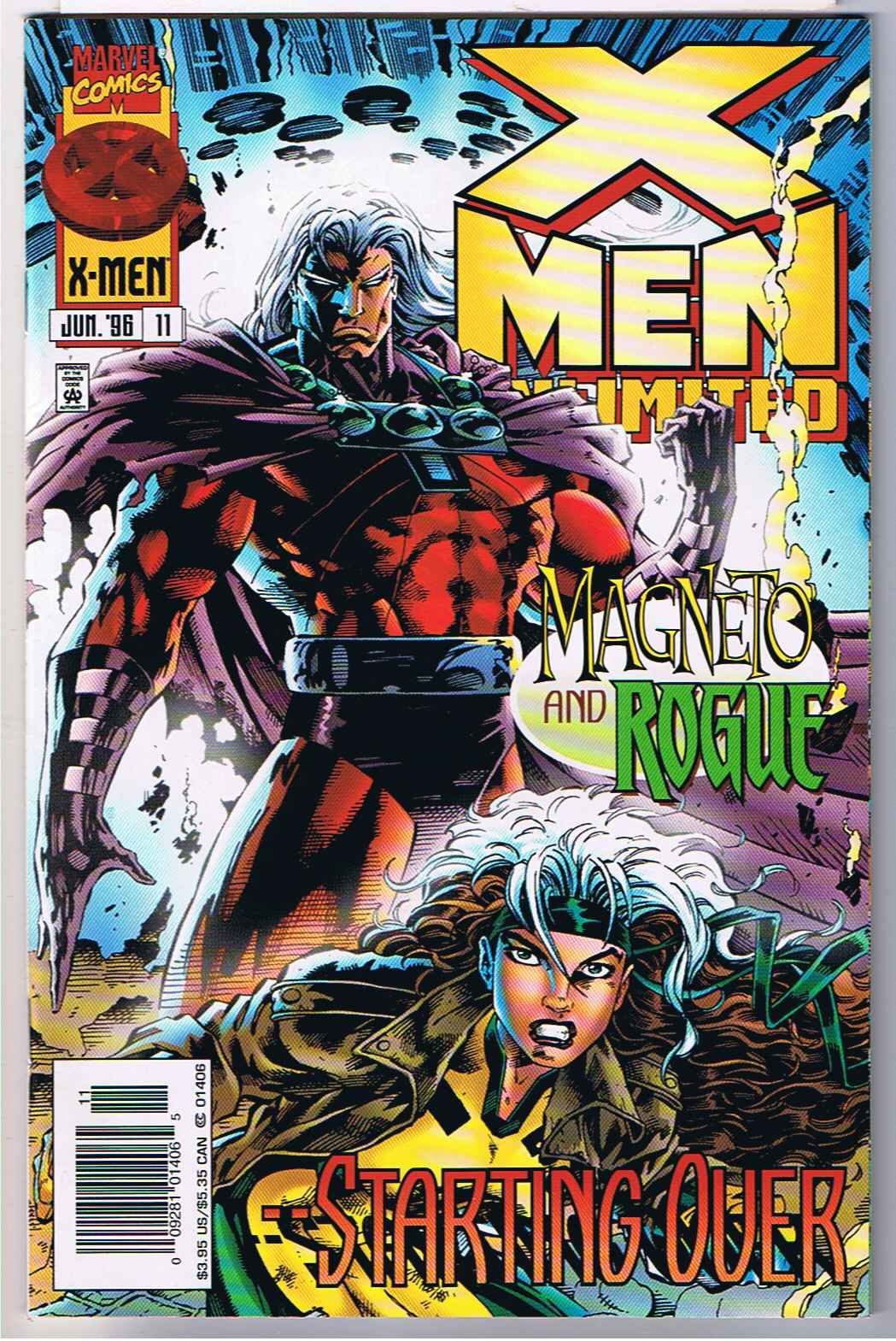 But Then I Always Like Magneto And Rogue Too X Men Unlimited 11 Rogues Marvel Comics Covers Comics