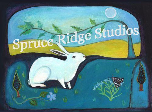 Spruce Ridge Studios LLC :: Rabbit In Moonlight - NEW!