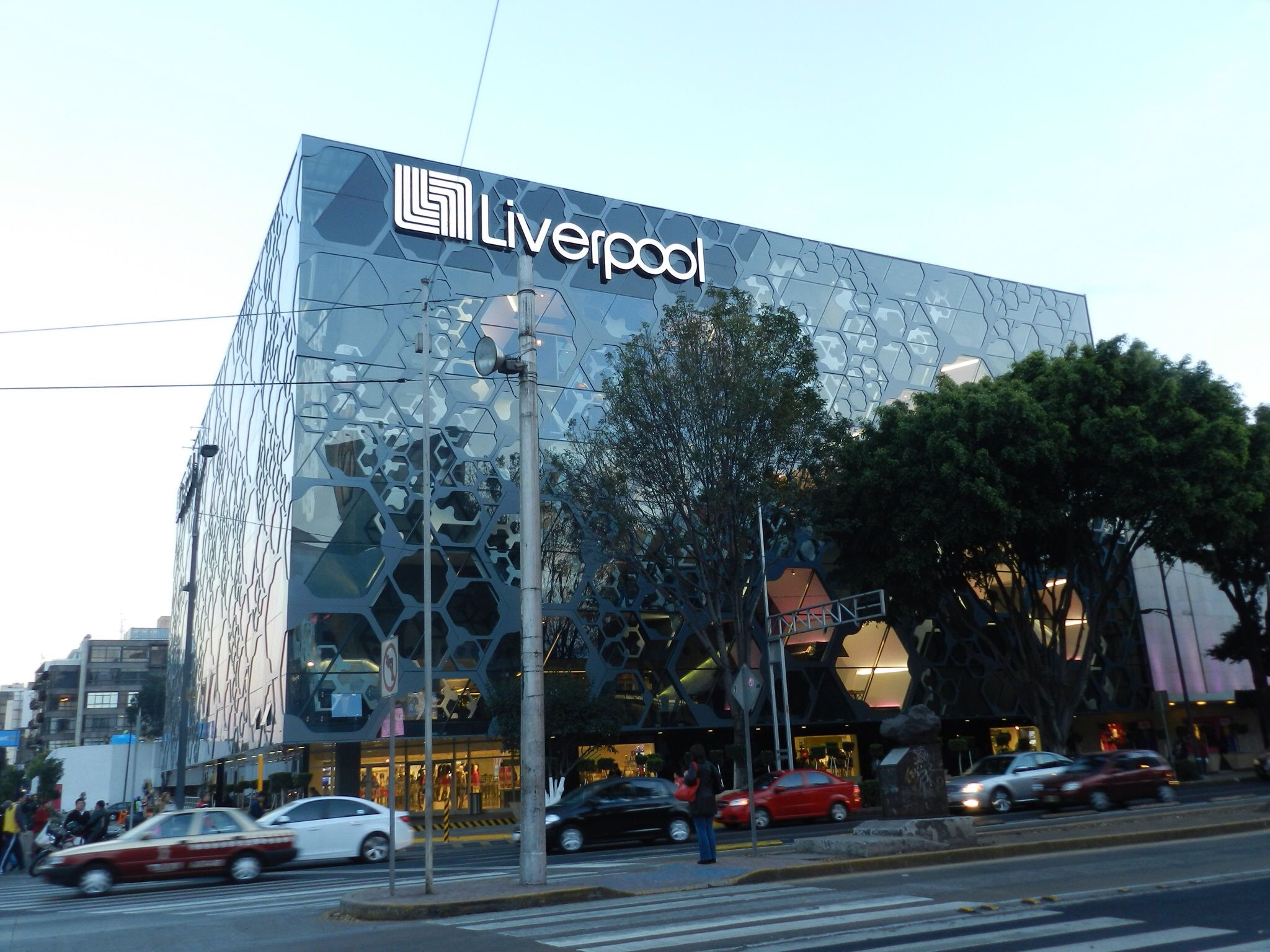 Liverpool Insurgentes Flagship Store Mexico City Modern