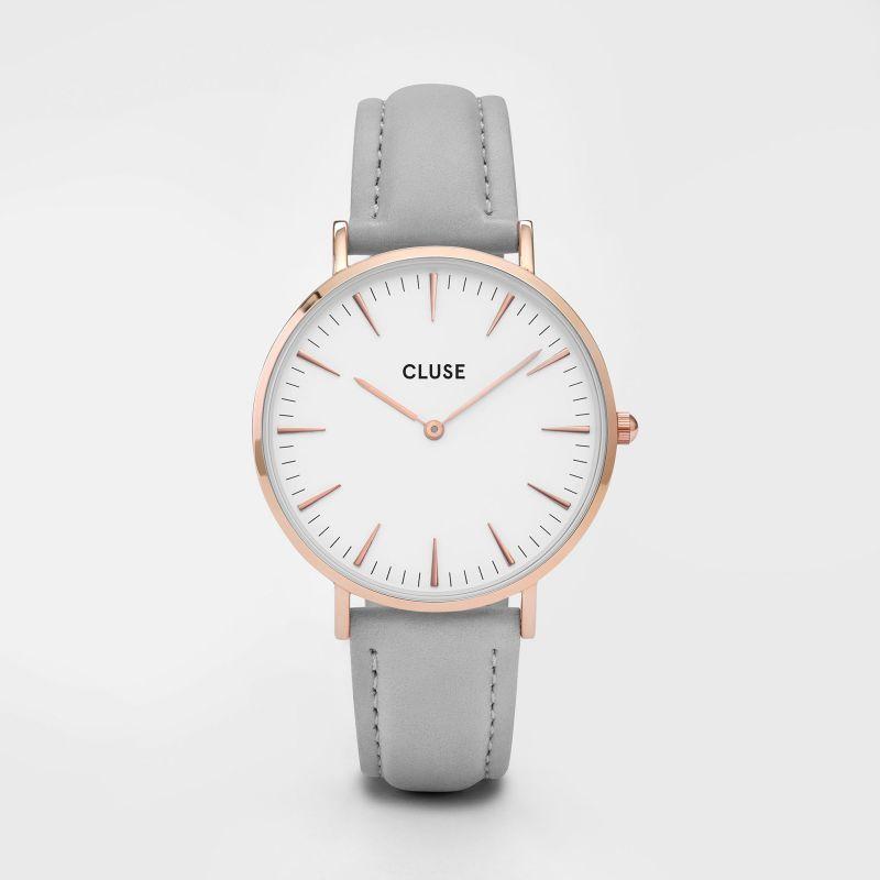 vente chaude en ligne 41de6 10d6f Montre Cluse grise au prix de 89€, existe aussi en rose, en ...