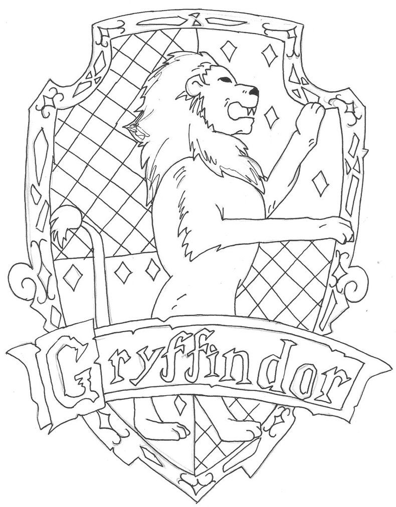 Gryffindor By Charr3 On Deviantart Harry Potter Sanati Cizim