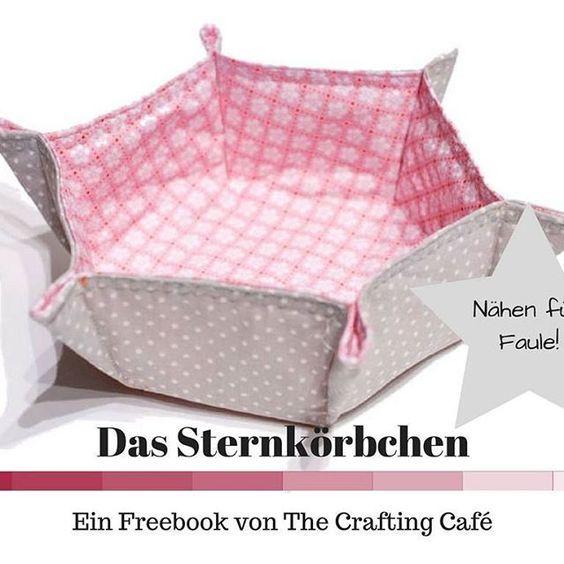 Freebook, free tutorial, utensilo nähen, nähen für faule, stoffkorb ...