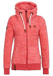 naketano Redefreiheit? Sweat Jacket for Women Red