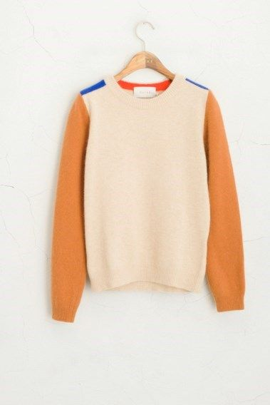 Ivory/Rust Jumper by Olive