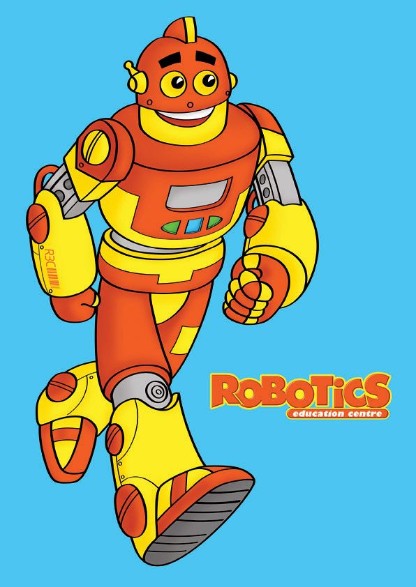 Mascot Design For Robotic Education Center Robots Pinterest