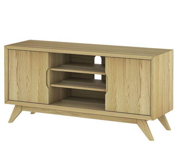 Size: 1200W x 380D x 590H mm  Denmark entertainment unit – Stacks Furniture Store