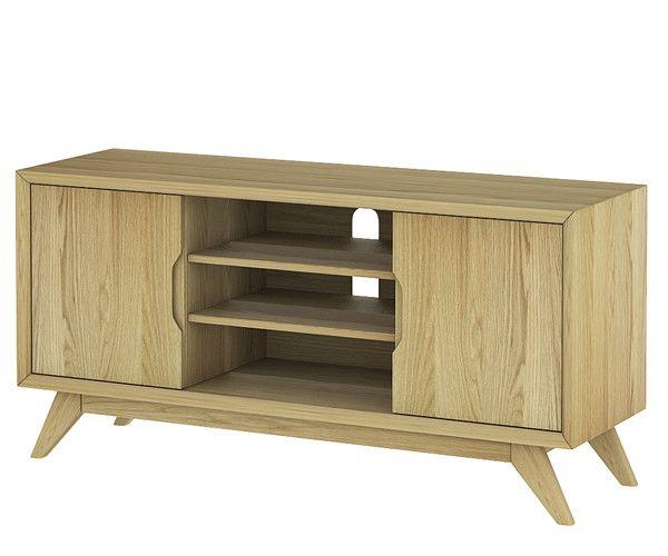 Size: 1200W x 380D x 590H mm  Denmark entertainment unit – Stacks Furniture Store