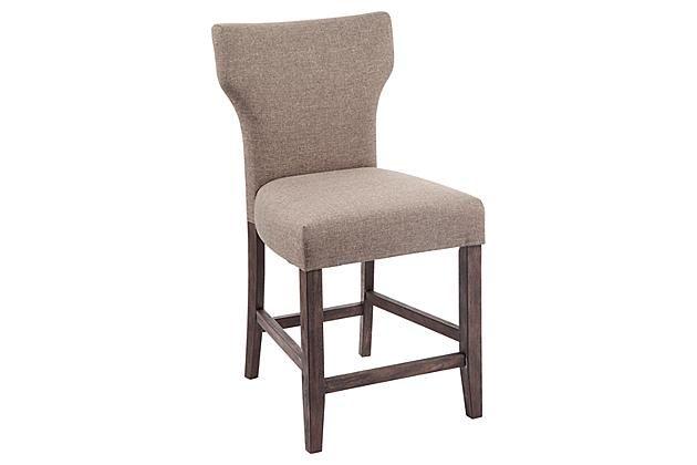 Strange Brown Glosco Counter Height Barstool View 2 Decor Design Lamtechconsult Wood Chair Design Ideas Lamtechconsultcom
