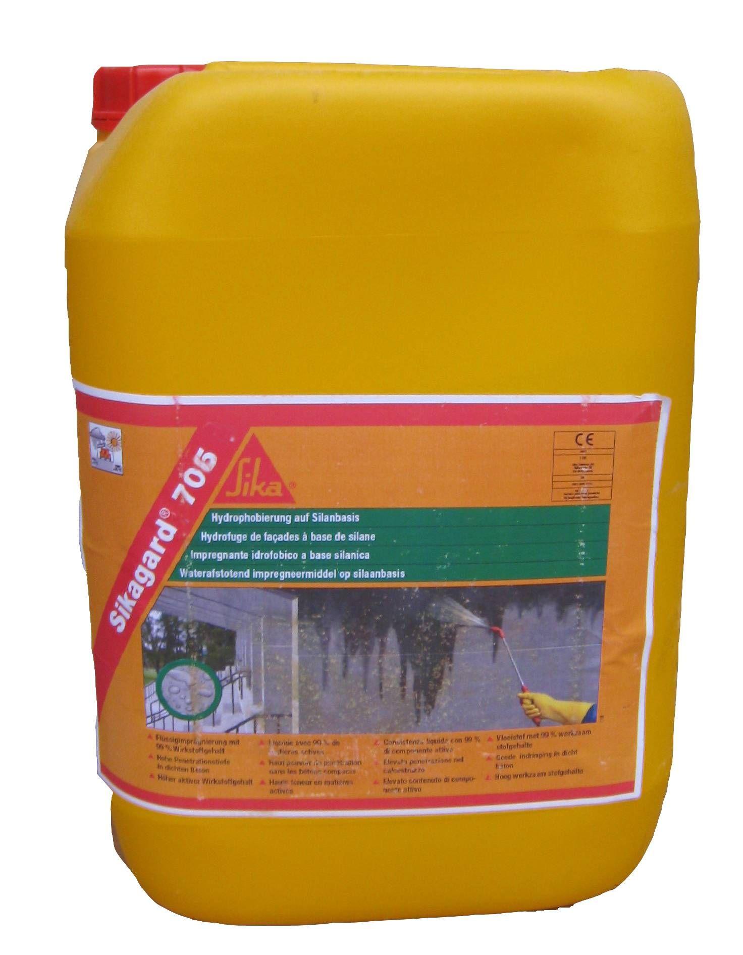 Sikagard 706 Thixo Gel D Impregnation Hydrophobe Sika Vent Produits Sol Et Mur