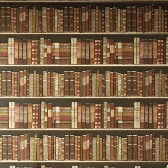 Bookshelves Wallpaper