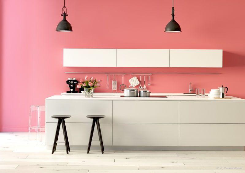 Farbfreude in der Küche! #Kolorat #Wandfarbe #renovieren #streichen ...