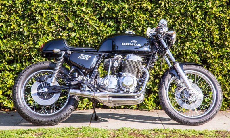 1976 Honda CB750F Super Sport Cafe Racer Custom cafe