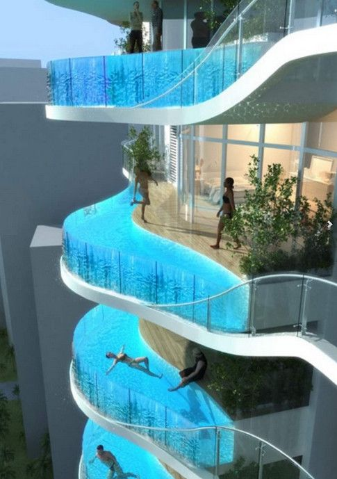 Glass Infinity Pool