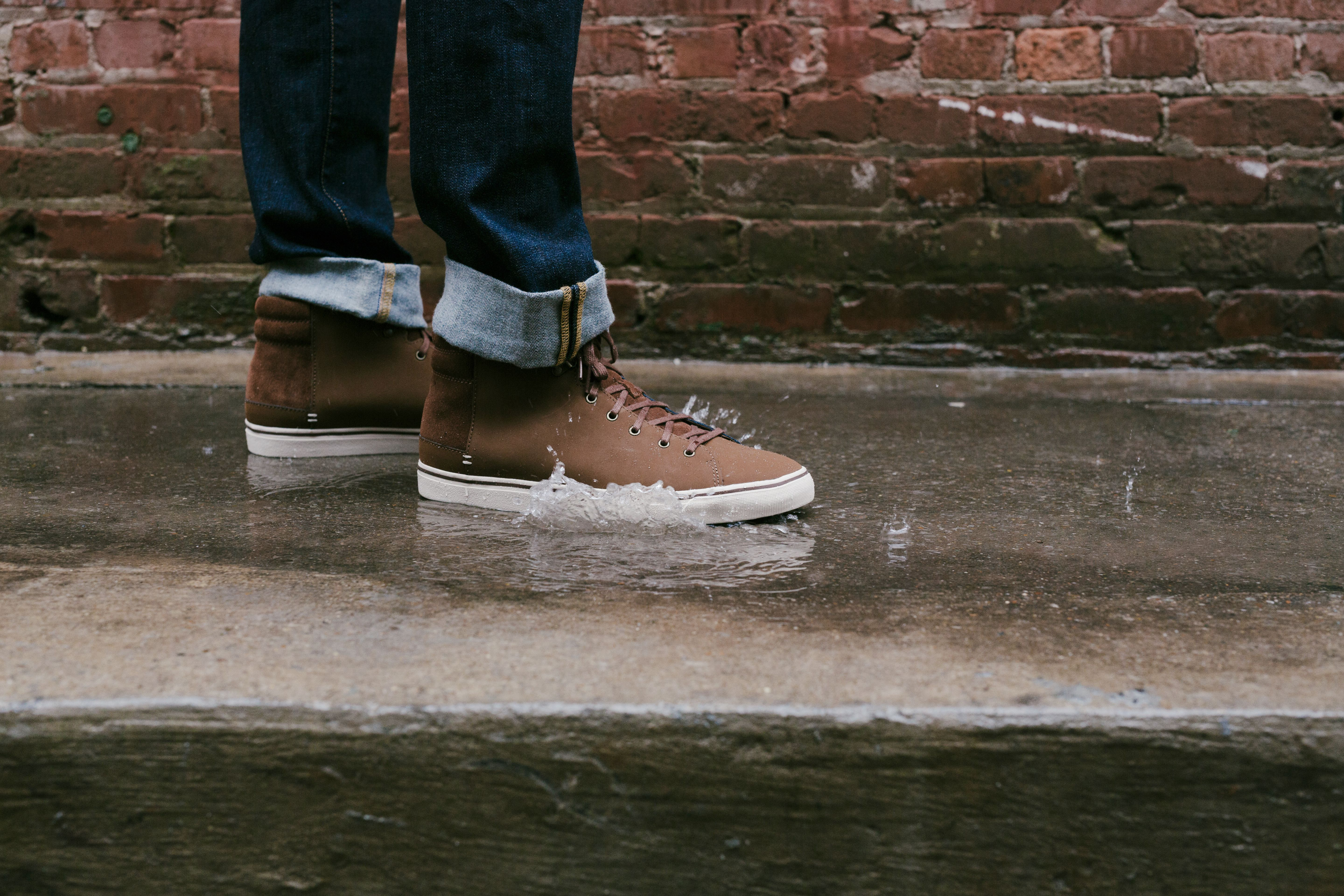 4834ba18692 Friday rain? Good thing our newest sneakers our waterproof. Shop the ...
