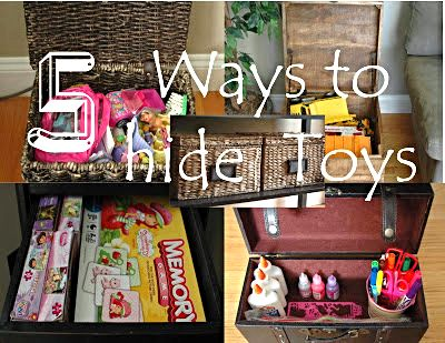 Five Ways To Conceal Kids Toys Organizing Living
