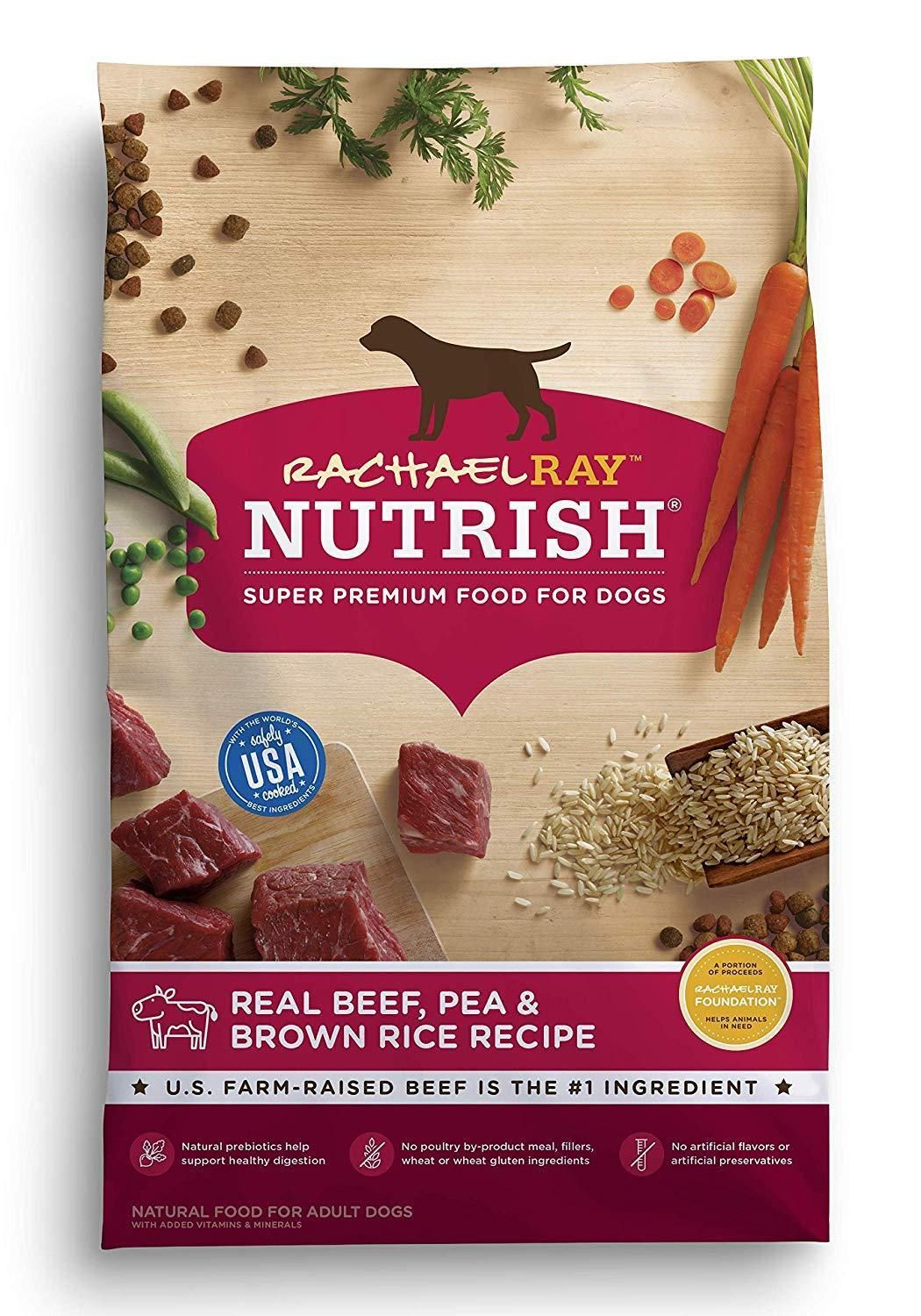 Rachael Ray Nutrish Natural Dry Dog Food Real Beef And Brown Rice