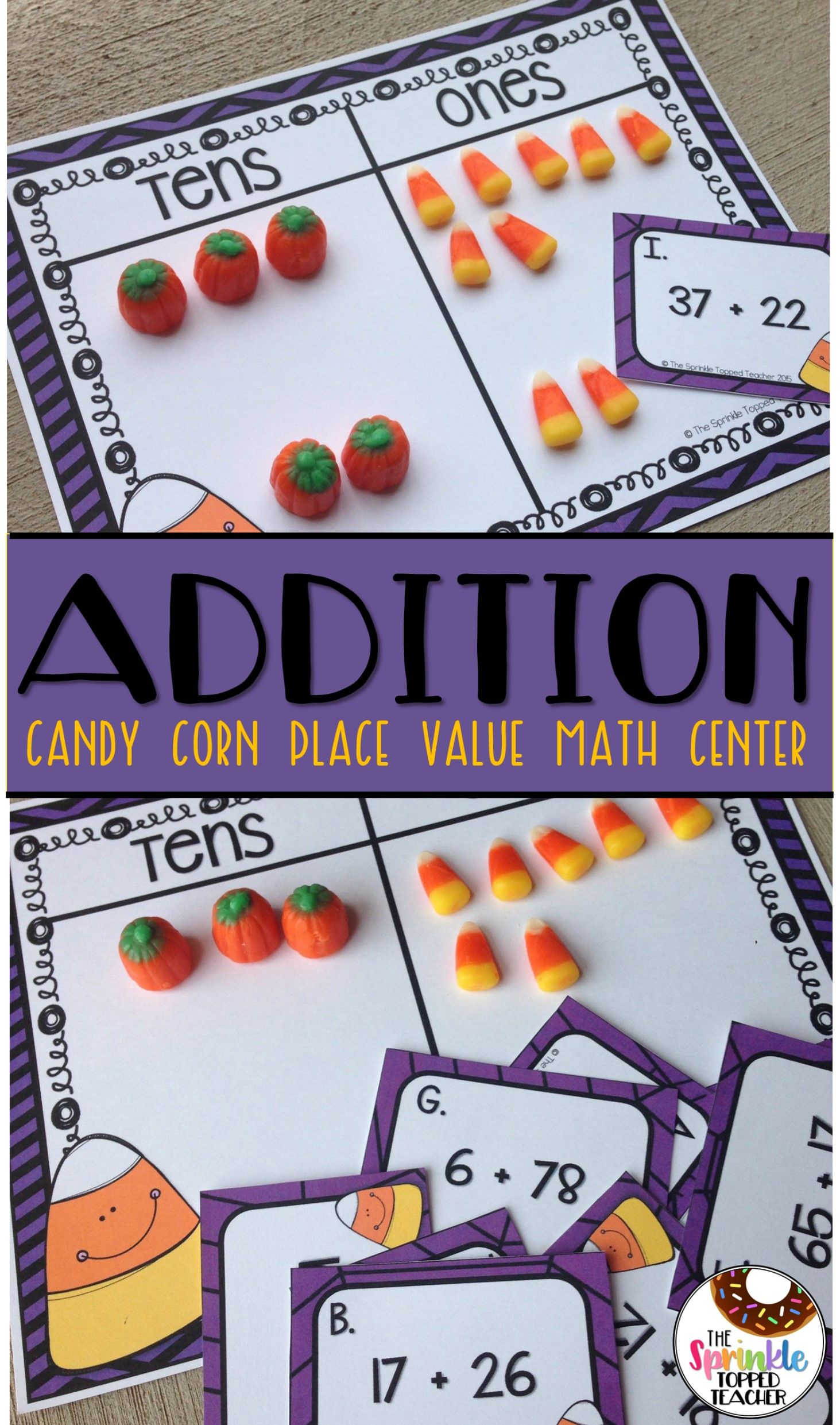 Candy Corn Math Game