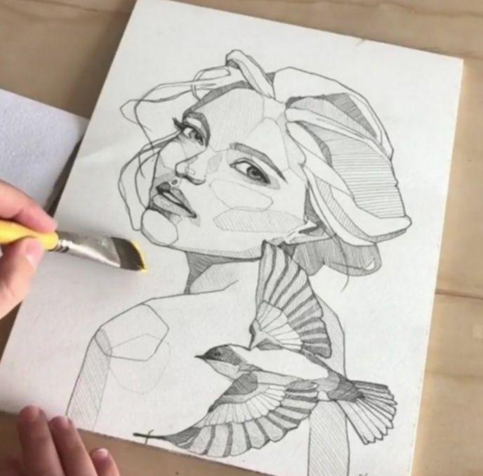 Anime Sketch Videos My Hero Academia Bnha Bokunoheroacademia Katsuki Sketches Sketch Book Art Painting