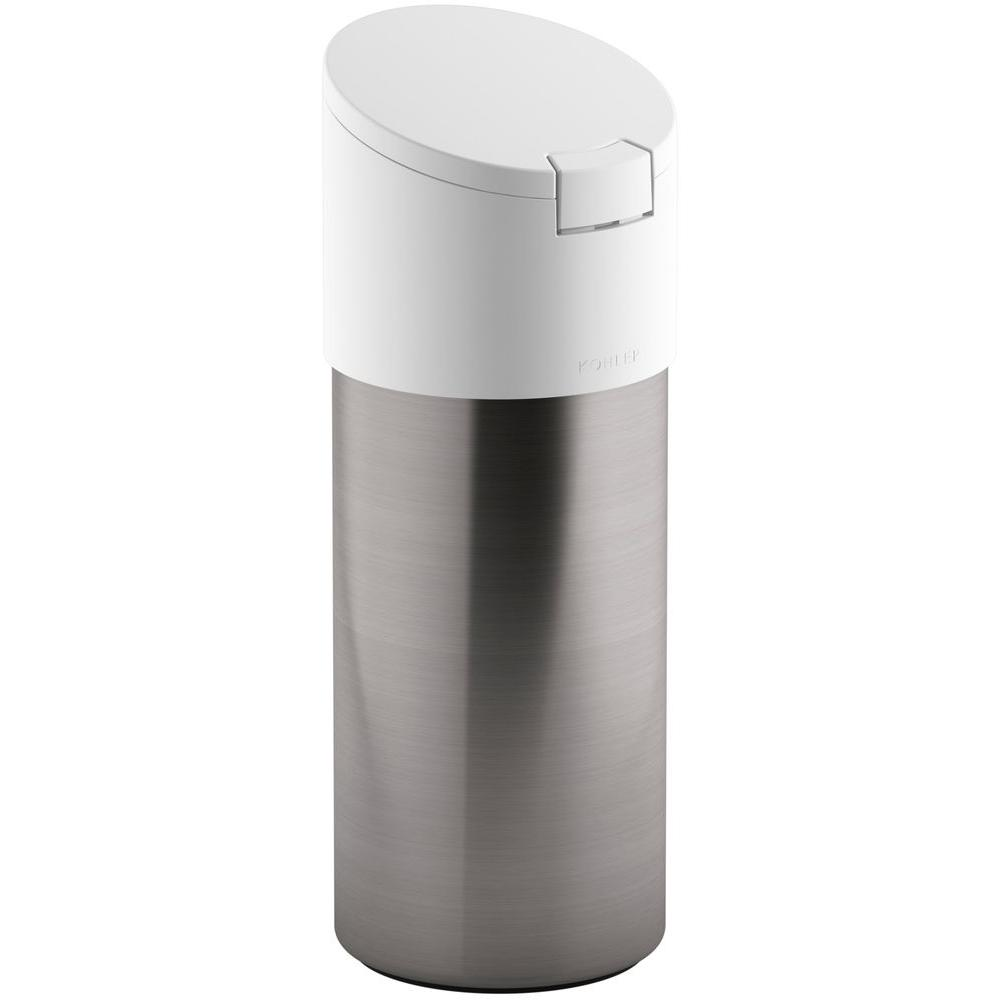 Disinfecting Wipes Dispenser In White Stainless Steel Cleaning