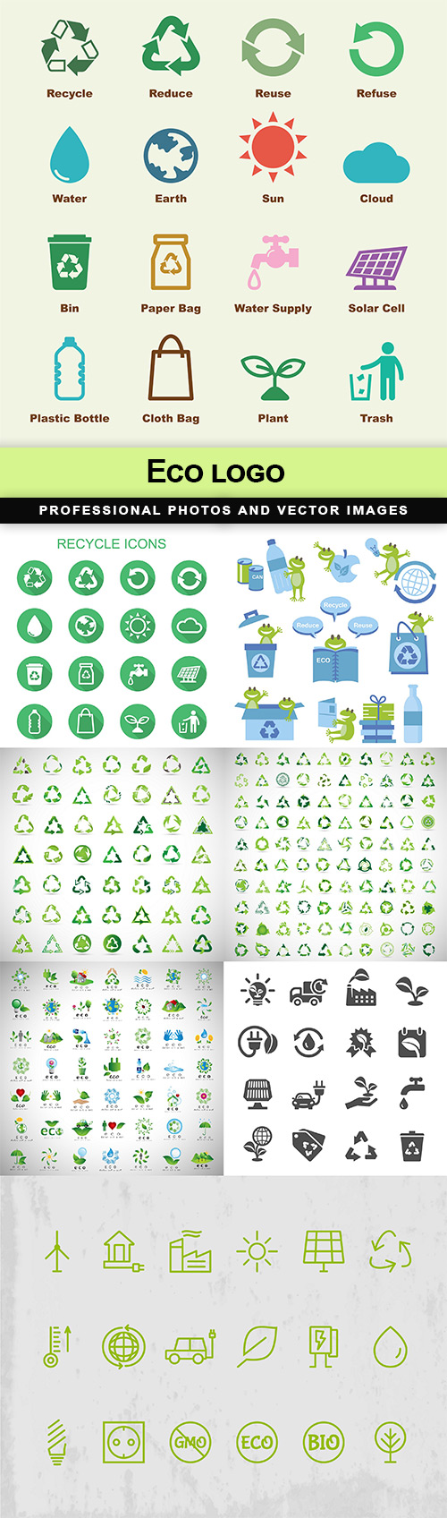 Eco logo - 8 EPS