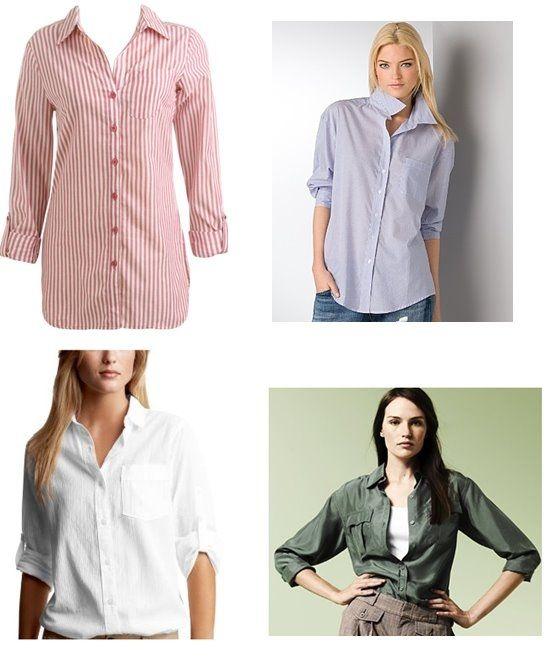 How to Wear Boyfriend Shirts